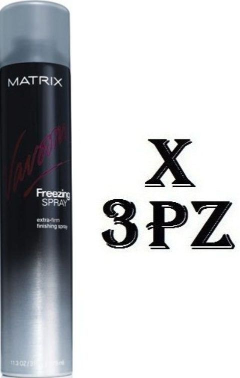 Matrix Vavoom Kit 3Pz. Extra Full Freezing Spray 500ml