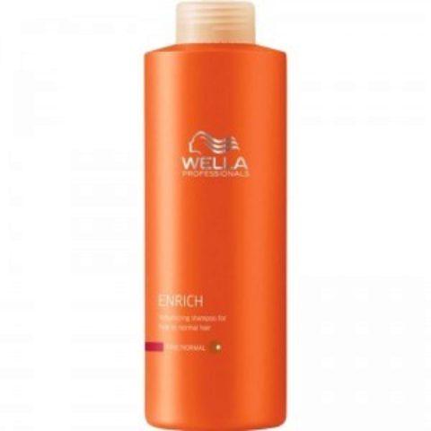 Wella Enrich Volumizing Shampoo 1000ml - champù volumizante cabello fino/normal
