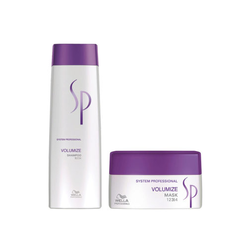 Wella System Professional Kit Volumize Shampoo 250 ml   Volumize Mask 200 ml