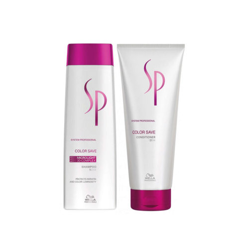 Wella SP Kit1 Color Save Shampoo 250ml   Color Save Conditioner 200ml