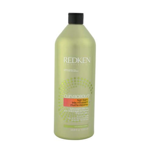 Redken Curvaceous High-foam Lightweight cleanser Shampoo 1000ml