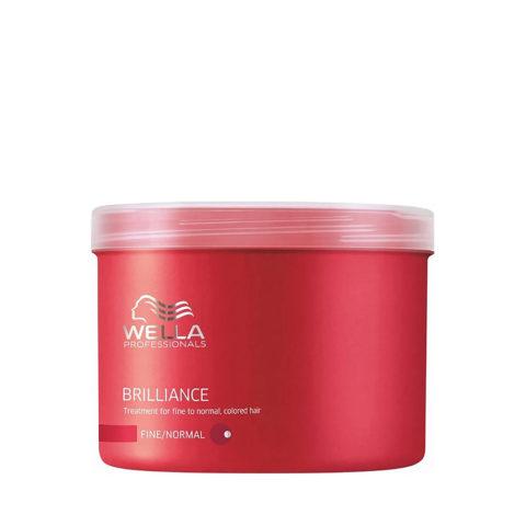 Wella Brilliance Mask 500ml - mascarilla cabello fino/normal
