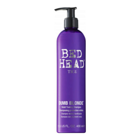 Tigi Bed Head Dumb Blonde Violet Toning Shampoo 400ml - Champù Rubios/Gris
