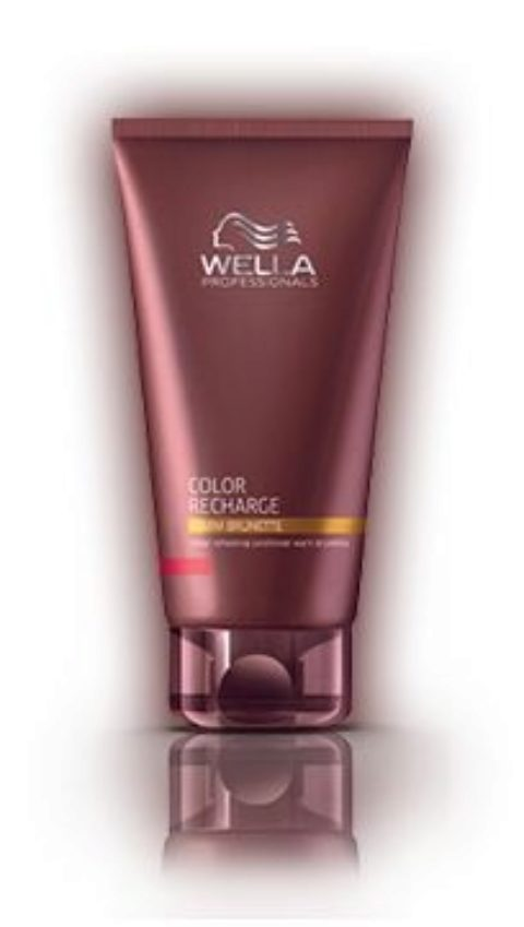 Wella Color Recharge Warm Brunette Conditioner 200ml