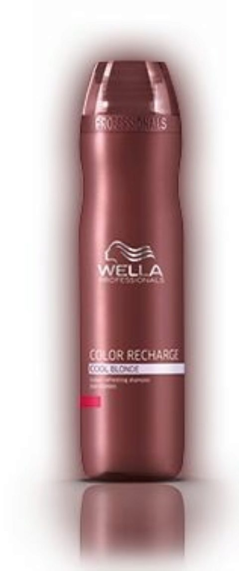 Wella Color Recharge cool Blonde Shampoo 250ml