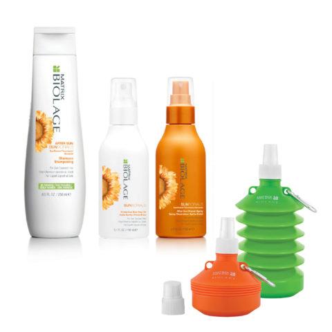 Matrix Biolage Sunsorials Kit Shampoo 250ml Dry-oil 150ml Repair Spray 150ml   Water bottle en regalo