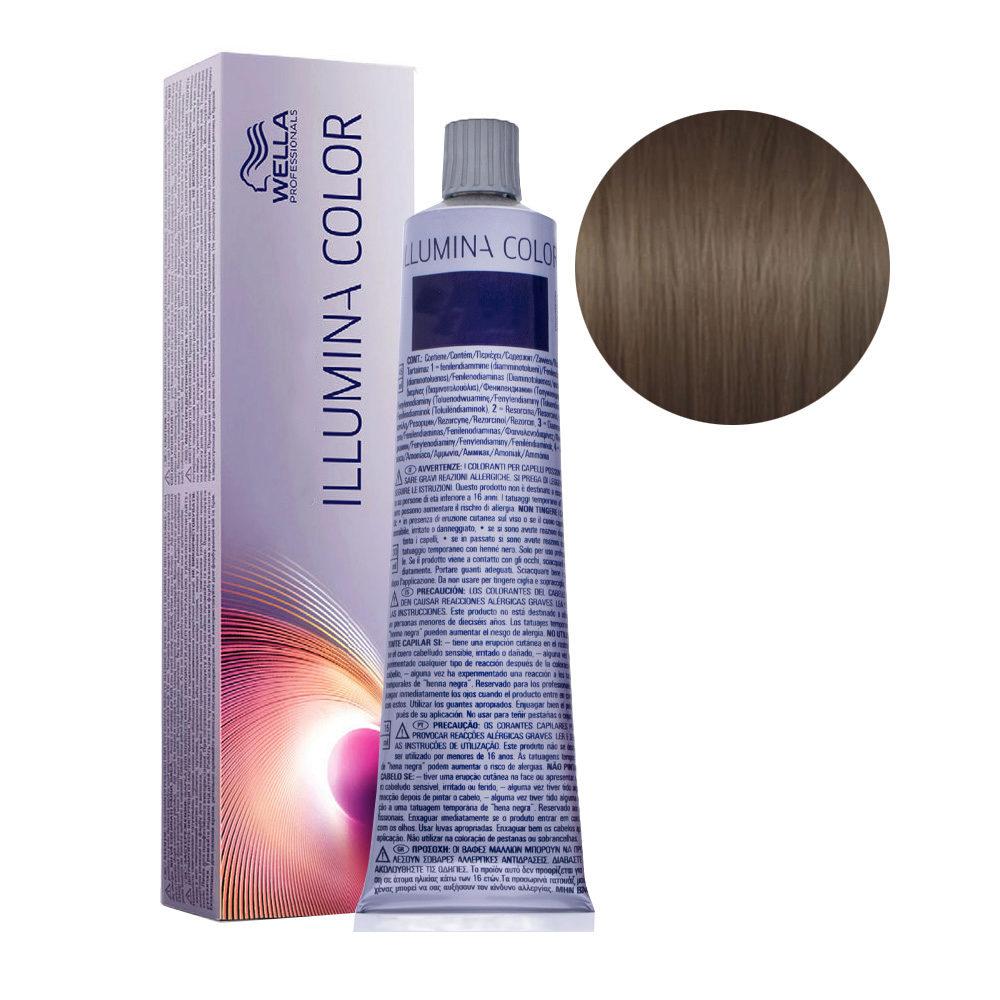 5/81 Castaño ceniza perla claro Wella Illumina Color 60ml