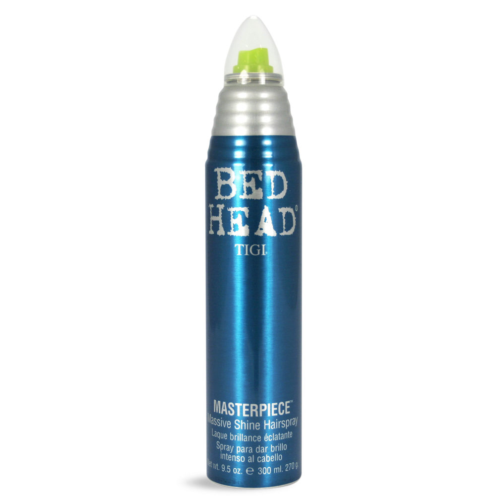 Tigi Bed Head Masterpiece 340ml  - Laca Brillo Intenso Fijacion Fuerte