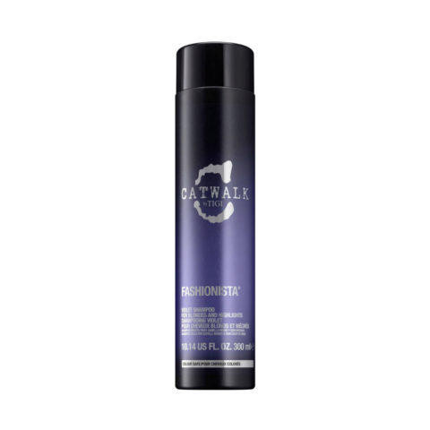 Tigi Catwalk Fashionista Violet shampoo 300ml - Champú Cabellos Rubio
