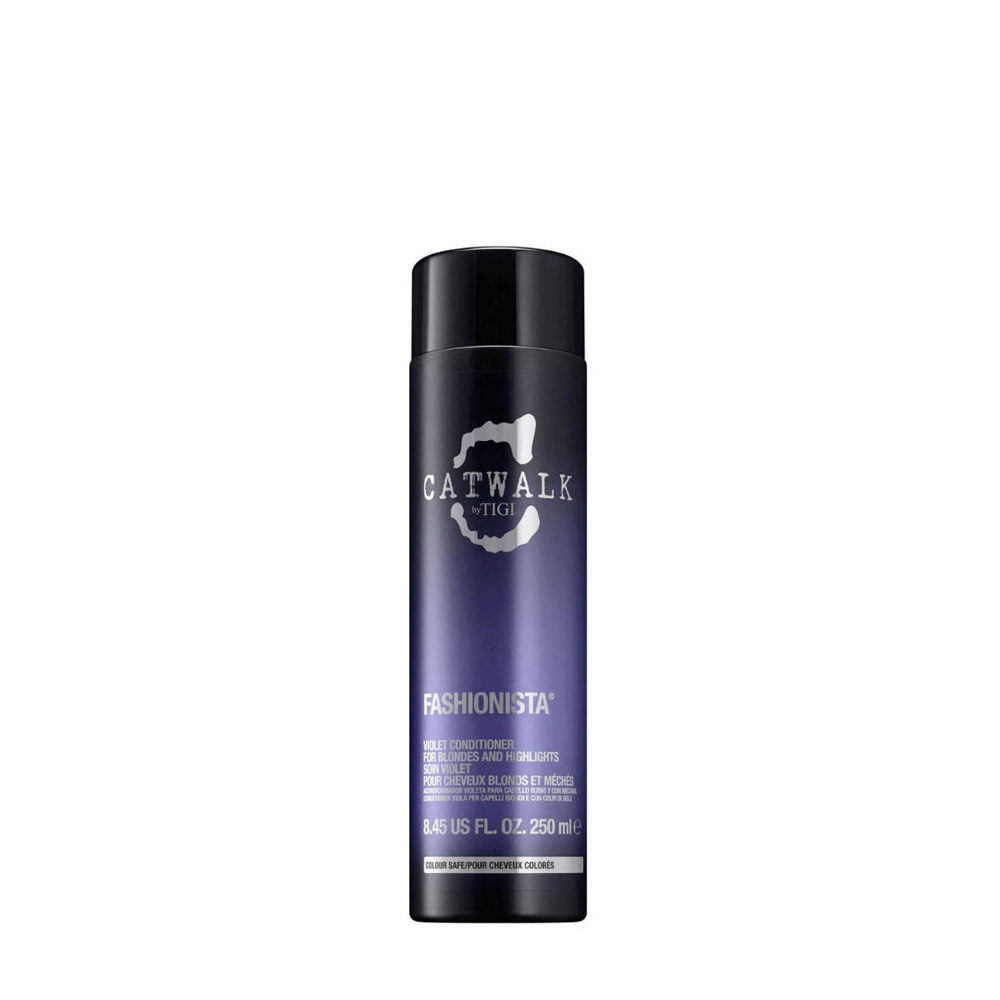 Tigi Catwalk Fashionista Violet conditioner 250ml - Acondicionador Cabellos Rubio