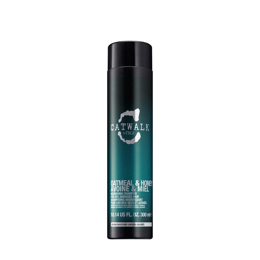 Tigi Catwalk Oatmeal & Honey shampoo 300ml - Champù Avena y Miel