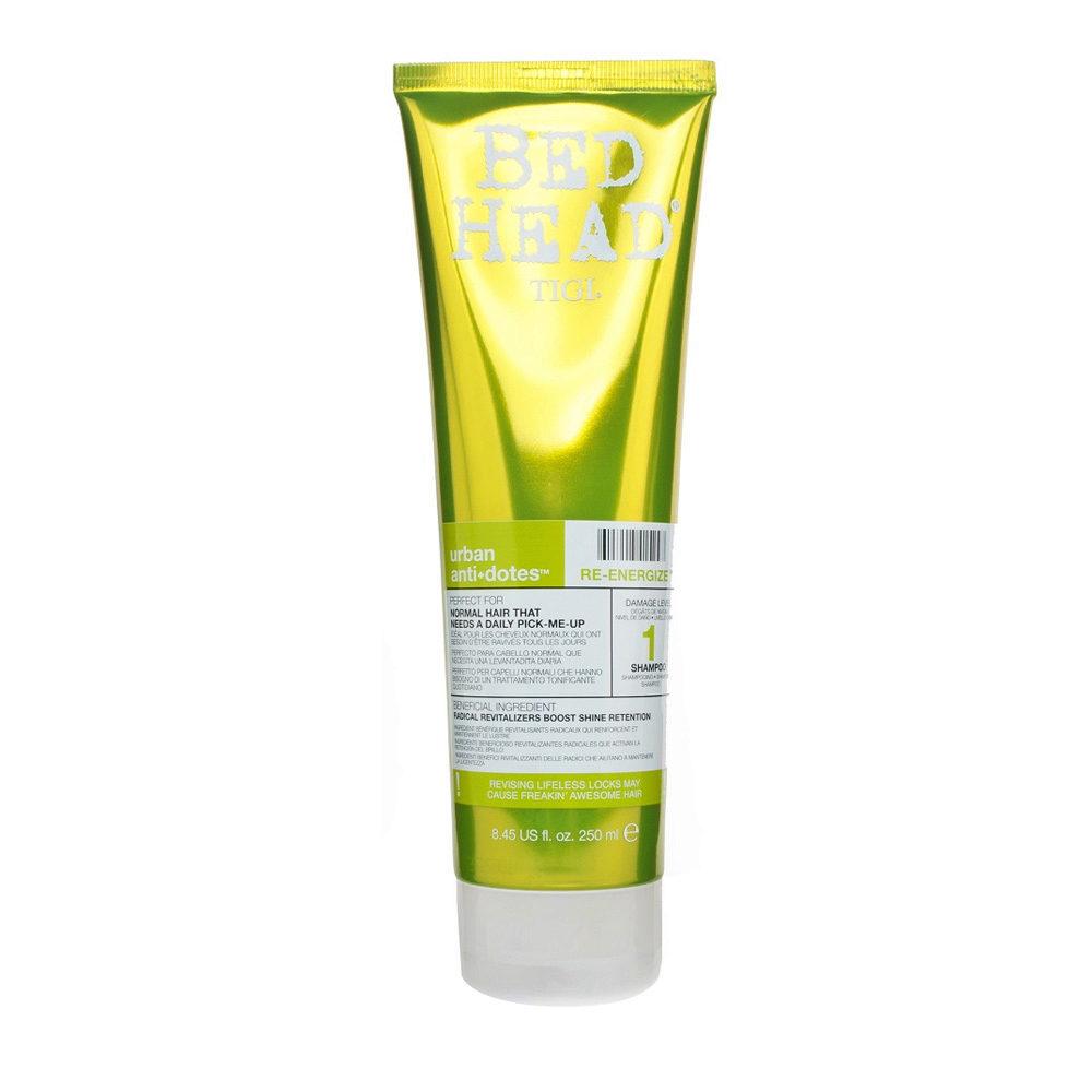 Tigi Urban Antidotes Re-Energize Shampoo 250ml - Champù de Reestructuración nivel 1