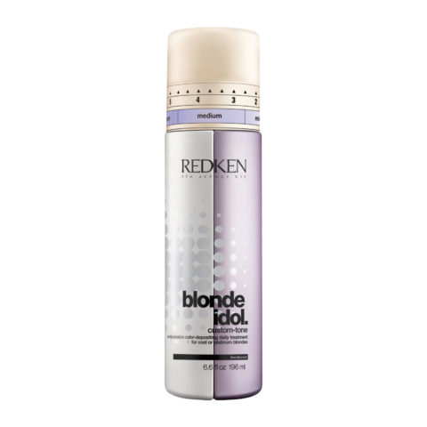 Redken Blonde Idol Custom-Tone Conditioner Violet for Cool Blondes 196ml