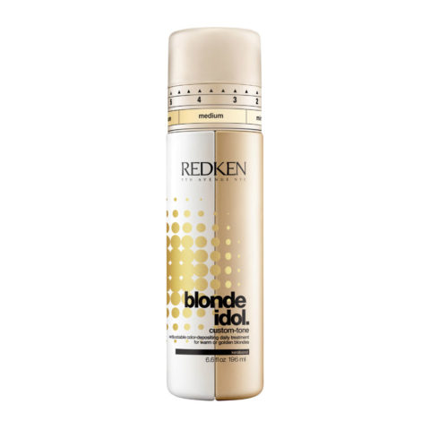 Redken Blonde Idol Custom-Tone Conditioner Gold for Warm Blondes 196ml