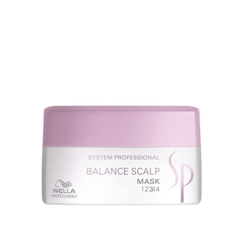 Wella System Professional Balance Scalp Mask 200ml - mascarilla lenitiva