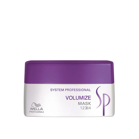 Wella System Professional Volumize Mask 200ml - mascarilla