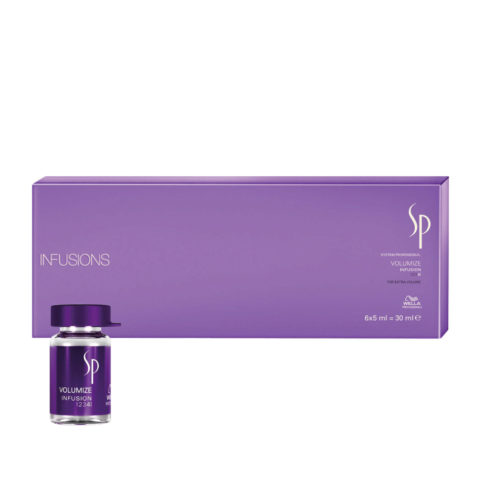 Wella System Professional Volumize Infusion 6x5ml - ampollas volumizante