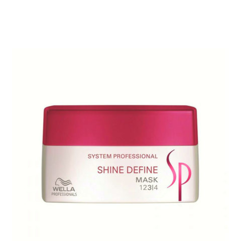 Wella System Professional Shine Define Mask 200ml - mascarilla