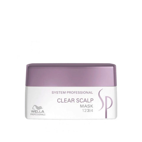 Wella System Professional Clear Scalp Mask 200ml - mascarilla anticaspa
