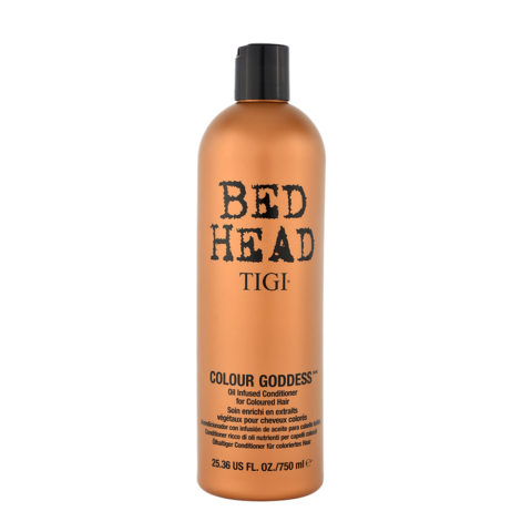 Tigi Bed Head Colour Goddess Oil infused Conditioner 750ml - acondicionador con infusion de aceite