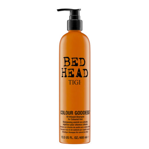 Tigi Bed Head Colour Goddess Oil infused Shampoo 400ml - Champù con Infusion de Aceite