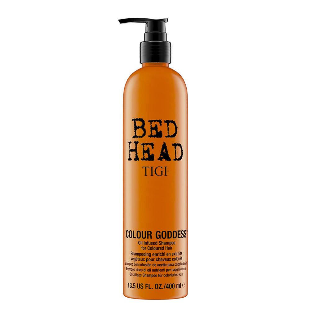 Tigi Bed Head Colour Goddess Oil infused Shampoo 400ml - champù con infusion de aceite