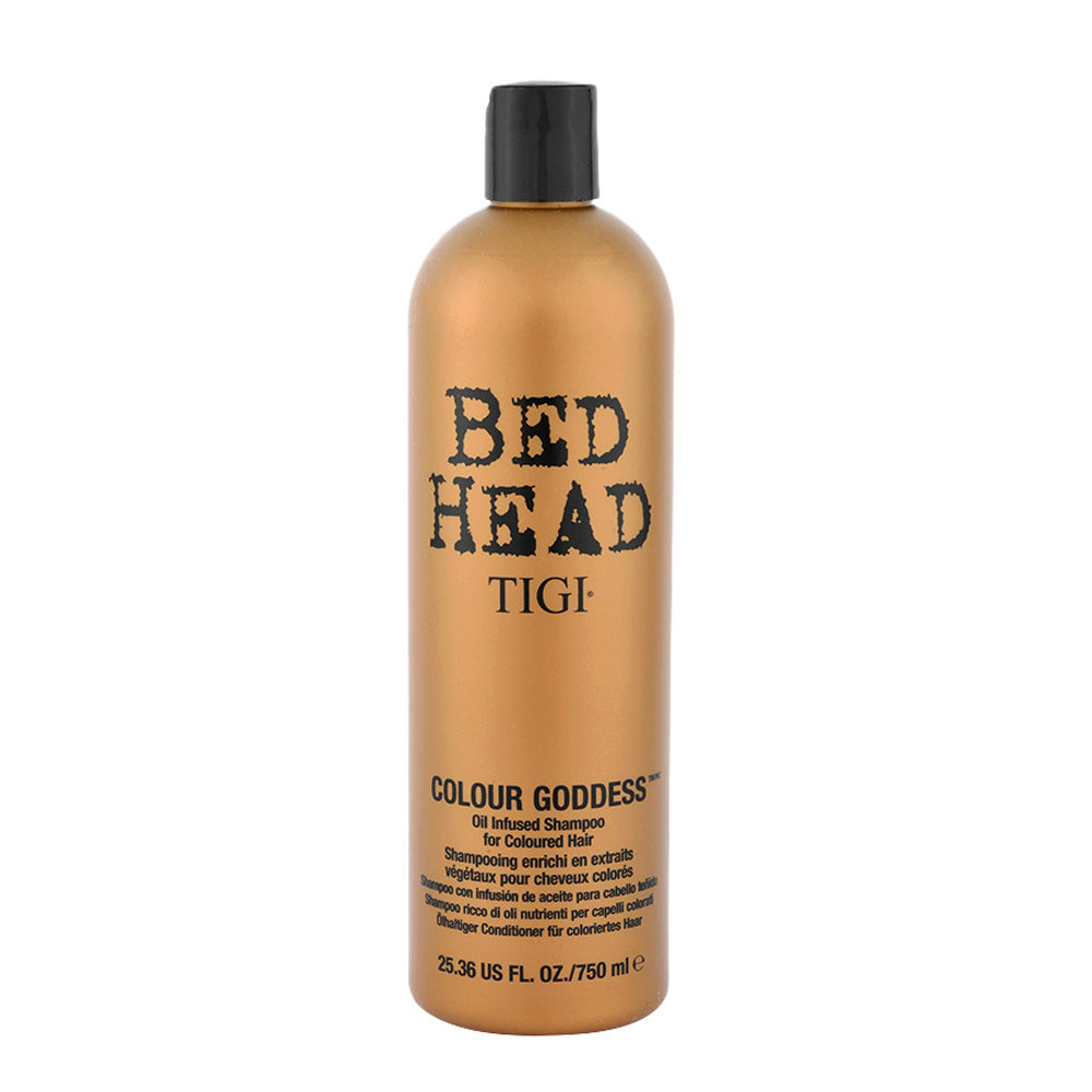 Tigi Bed Head Colour Goddess Oil infused Shampoo 750ml - Champù con Infusion de Aceite