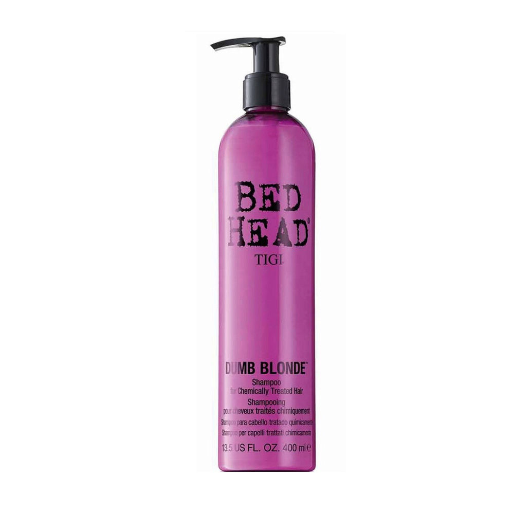 Tigi Bed Head Dumb Blonde Shampoo 400ml - Champù Cabello Tratado Rubio