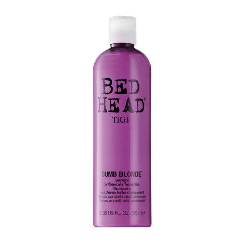 Tigi Bed Head Dumb Blonde Shampoo 750ml - champù cabello tratado rubio