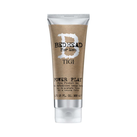 TIGI Bed Head Men Power Play Gel 200ml - Gel de Acabado Fuerte