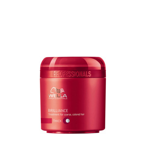 Wella Brilliance Mask 150ml - mascarilla cabello grueso