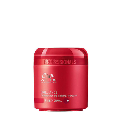 Wella Brilliance Mask 150ml - mascarilla cabello fino/normal