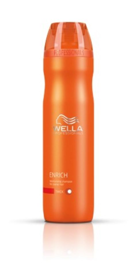 Wella Enrich Volumizing Shampoo 250ml - champù volumizante cabello fino/normal