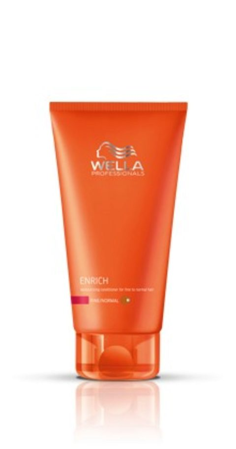 Wella Enrich Moisturizing Conditioner 200ml - acondicionador cabello fino/normal