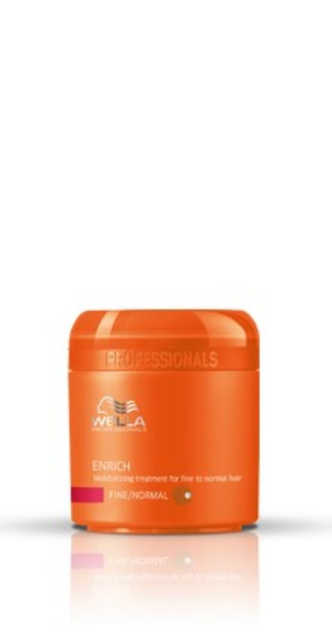 Wella Enrich Moisturizing Mask 150ml - mascarilla cabello fino/normal