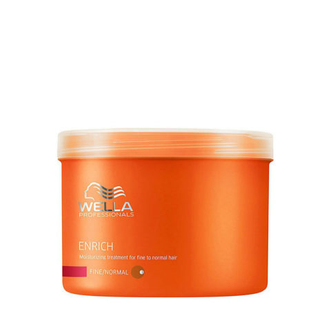 Wella Enrich Moisturizing Mask 500ml - mascarilla cabello fino/normal