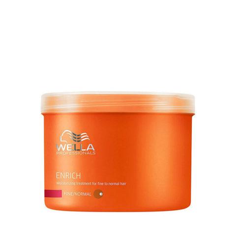 Wella Enrich Moisturizing Mask 500ml - mascarilla cabello fino/normal