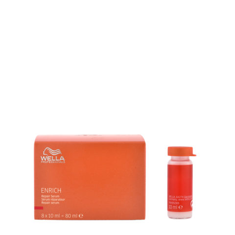Wella Enrich Repair Serum 8x10ml - ampollas de riparaccìon