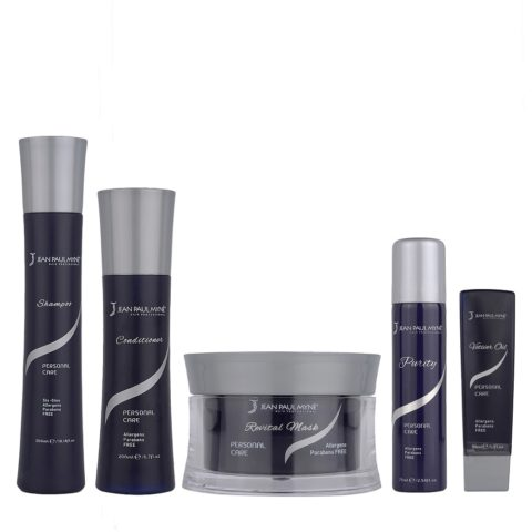 Jean Paul Mynè Kit1: Shampoo, Conditioner, Revital mask, Vetiver oil, Purity