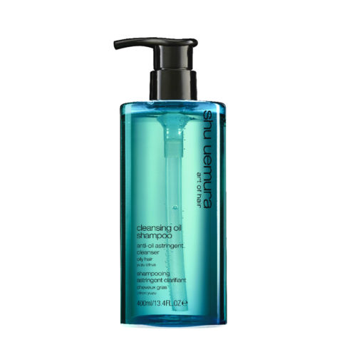 Shu Uemura Cleansing oil Shampoo Anti-oil astringent 400ml - Champú Para Cabello Graso