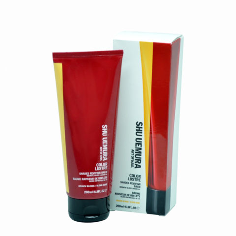 Shu Uemura Color lustre Golden Blonde 200ml - Tratamiento para cabello rubio