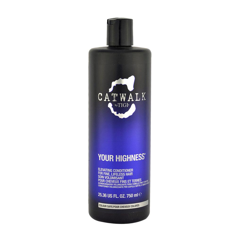 Tigi CatWalk Your Highness Elevating Conditioner 750ml - Acondicionador Volumizador
