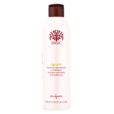 Naturalmente Basic Citrus Shampoo Volumizing and renforcing 250ml