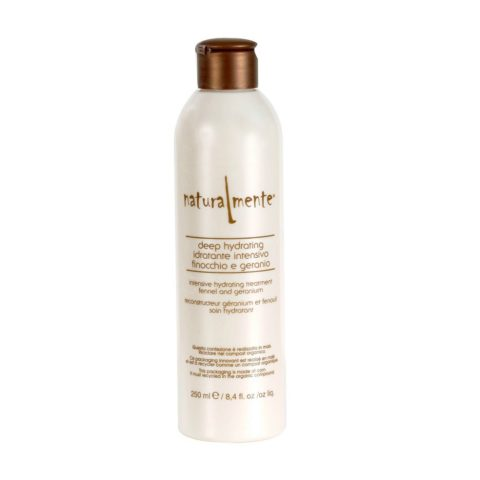 Naturalmente Basic Deep hydrating conditioner Fennel and geranium 250ml