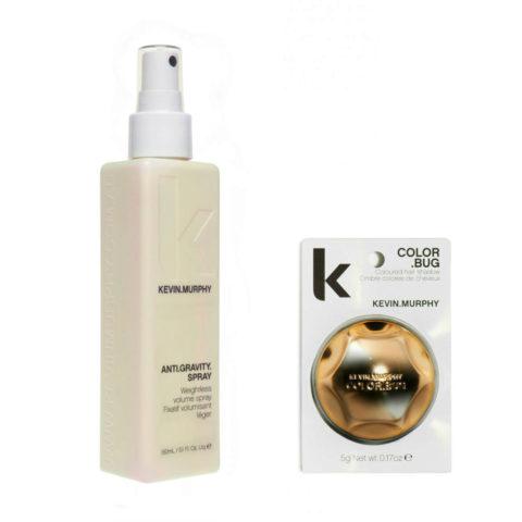 Kevin Murphy Kit Color bug shimmer gold 5gr   Anti gravity spray 150ml