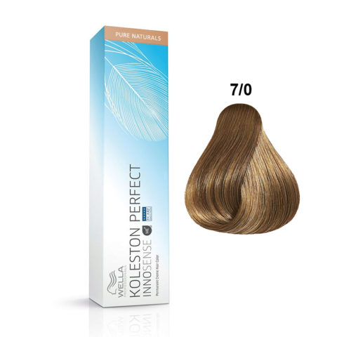 7/0 Medium blonde Wella Koleston Perfect innosense Pure naturals 60ml