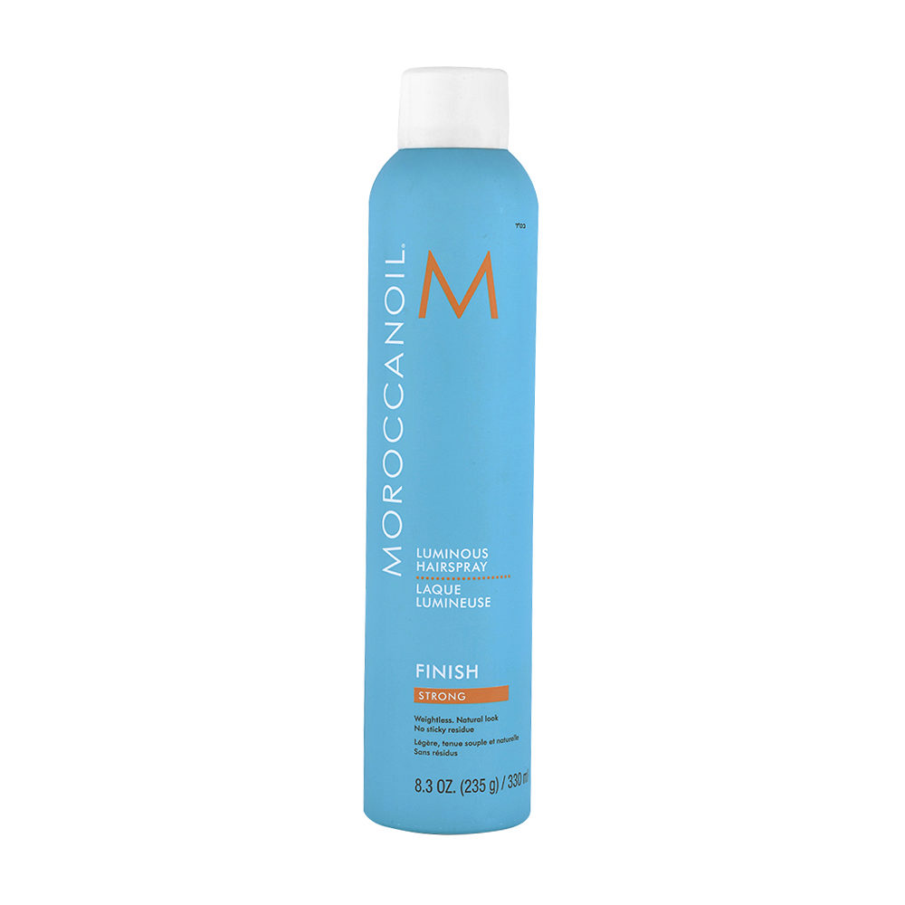 Moroccanoil Luminous Hairspray Finish Strong 330ml - laca fijación fuerte