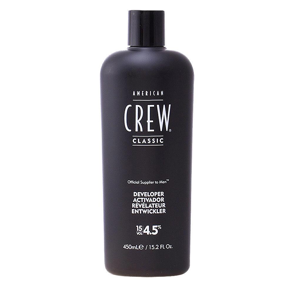 American Crew Classic Precision Blend Developer 15vol. 4,5%, 450ml - oxígeno