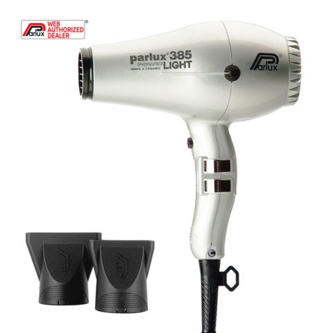 Parlux 385 Powerlight Ionic & Ceramic de plata