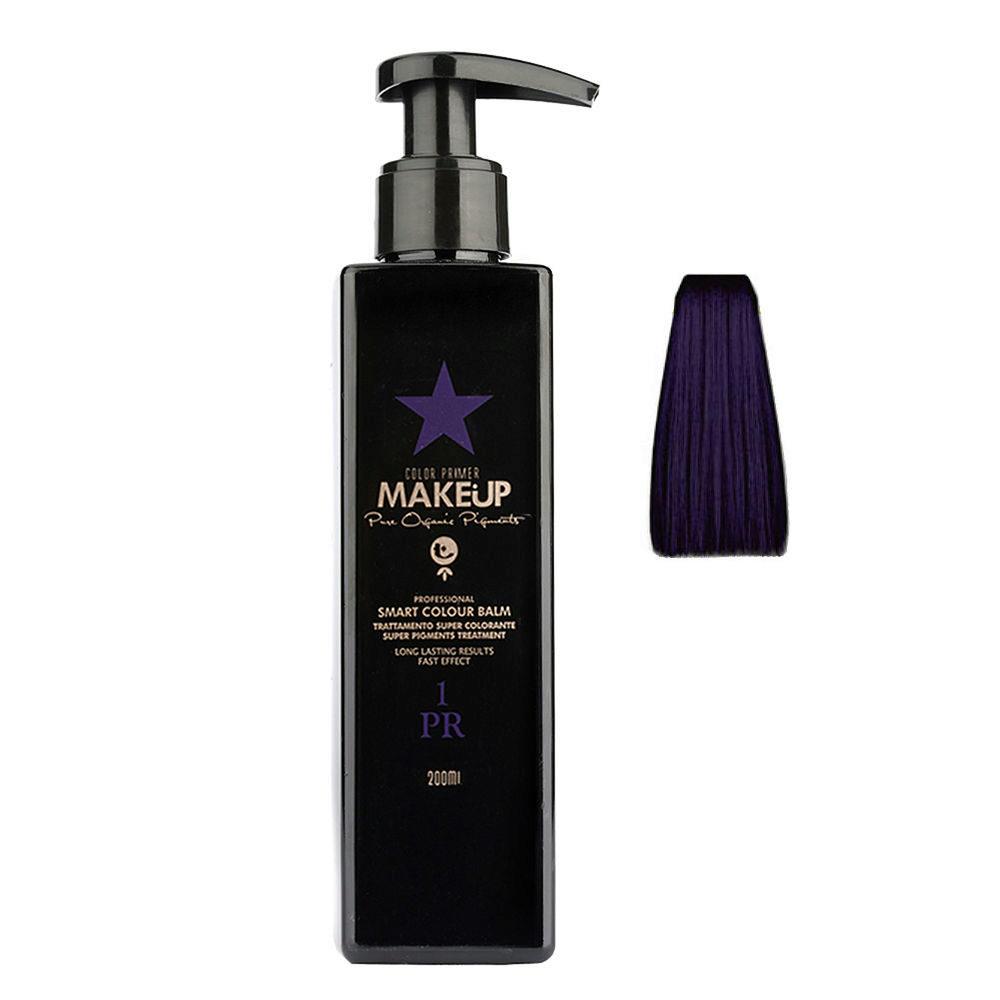 Tecna Make up Color Primer Smart Colour Balm 1PR purple 200ml - Violeta